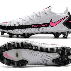 Nike Phantom GT Elite FG White Pink Black Football Boots