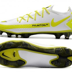 Nike Phantom GT Elite FG White Yellow Black Football Boots
