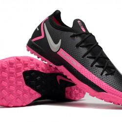 Nike Phantom GT Elite TF Black Silver Peach Football Boots