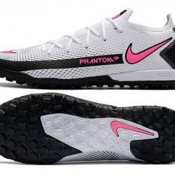 Nike Phantom GT Elite TF Black White Pink Football Boots