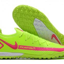Nike Phantom GT Elite TF Green Peach Football Boots