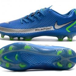 Nike Phantom GT FG Navy Blue White Football Boots