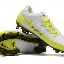 Nike Phantom GT FG White Yellow Football Boots