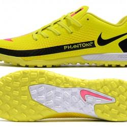 Nike Phantom GT TF Black Yellow Football Boots