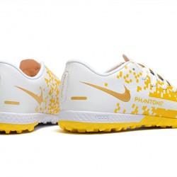 Nike Phantom GT TF Low Mens Yellow White Football Boots