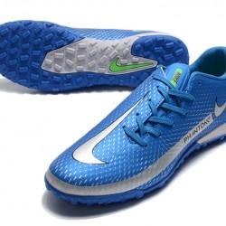 Nike Phantom GT TF Navy Blue Silver Football Boots