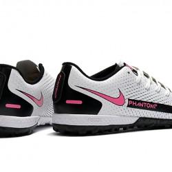 Nike Phantom GT TF White Pink Black Football Boots