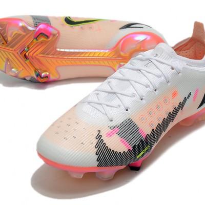 Nike Phantom GT2 Elite DF FG Low White Black Orange Football Boots