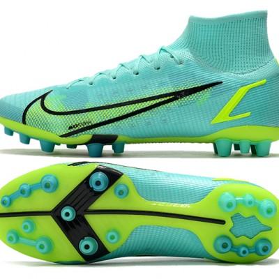 Nike Superfly 8 Elite AG Ltblue Yellow Black Football Boots