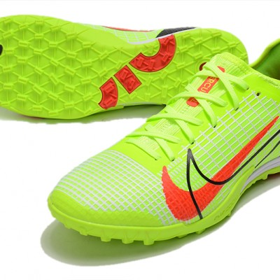 Nike Zoom Vapor 14 Pro TF Low Green Black Red Football Boots