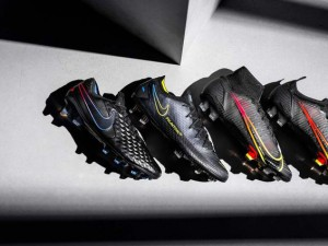 Nike releases Black x Prism color matching assassin suit Football Boots